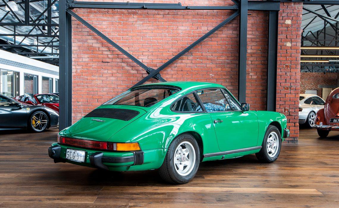 1978 Porsche 911 SC Green