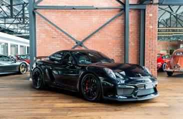 2016 Porsche Cayman GT4 Black