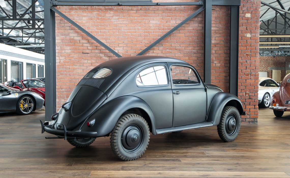 Vw Beetle Original Black X