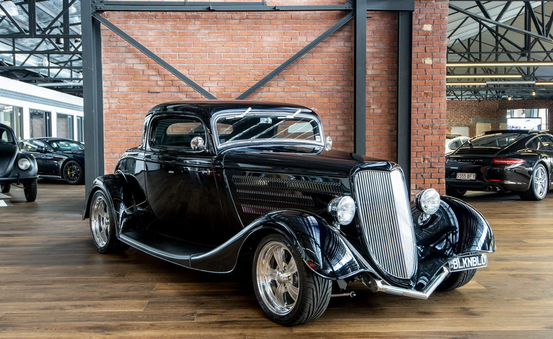 1934 Ford 3 Window Coup Hot Rod