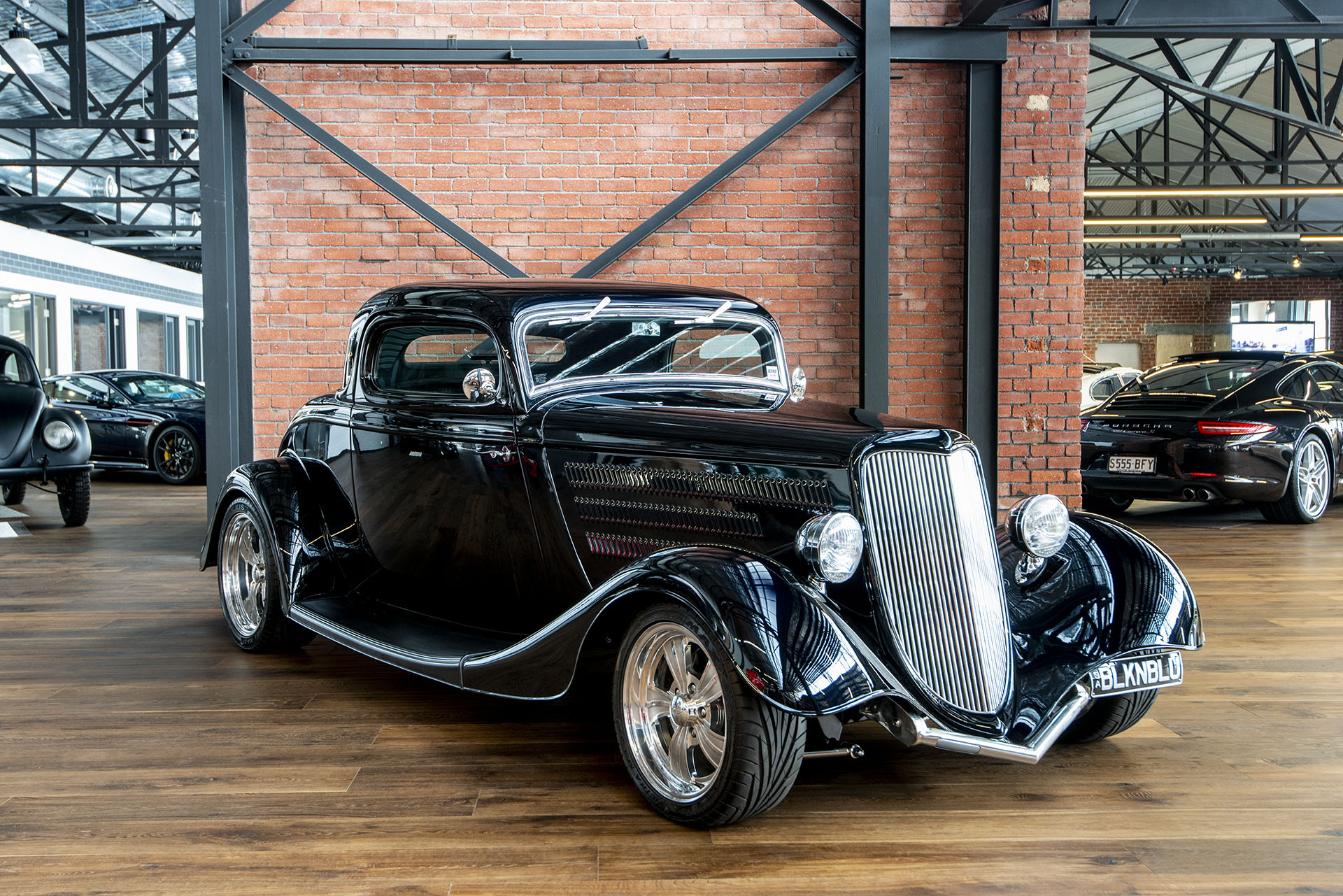 1934 Ford 3 Window Coupe Hot Rod - Richmonds - Classic and Prestige
