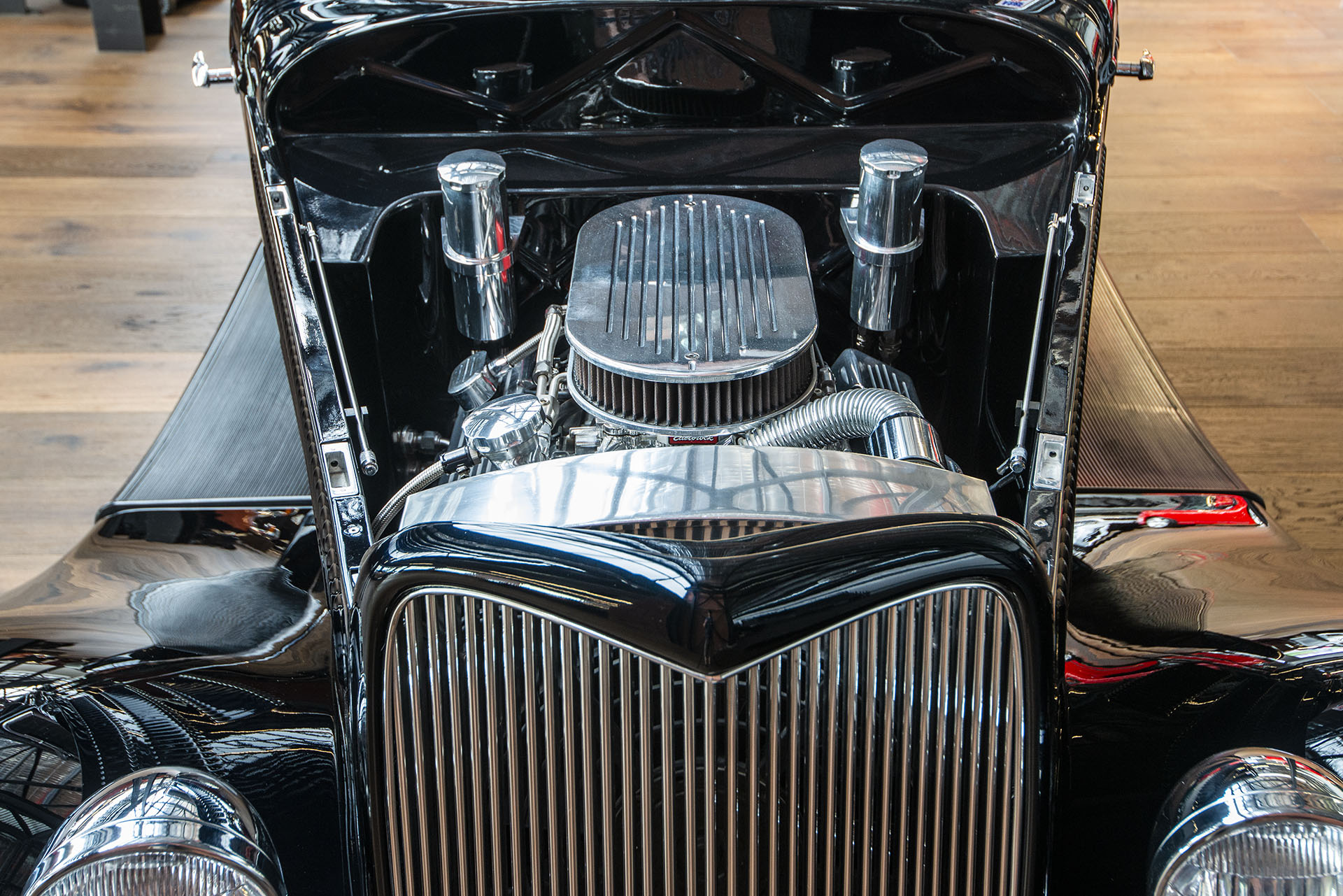 Black Car Paint >> 1934 Ford 3 Window Coupe Hot Rod - Richmonds - Classic and Prestige Cars - Storage and Sales ...