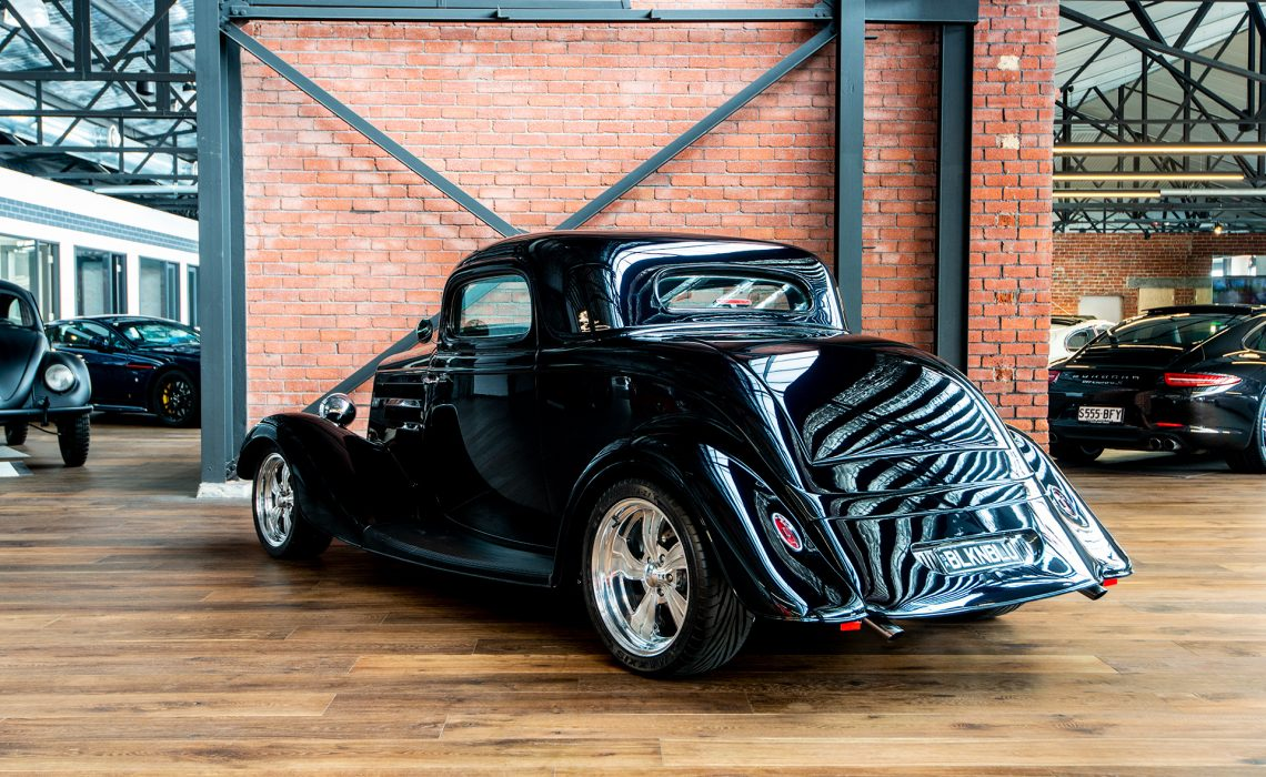 Car Window Guards >> 1934 Ford 3 Window Coupe Hot Rod - Richmonds - Classic and Prestige Cars - Storage and Sales ...