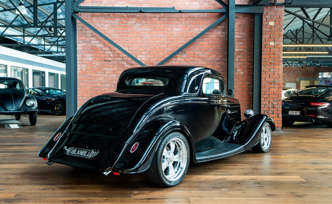 1934 Ford 3 Window Coupe Hot Rod Richmonds Classic And