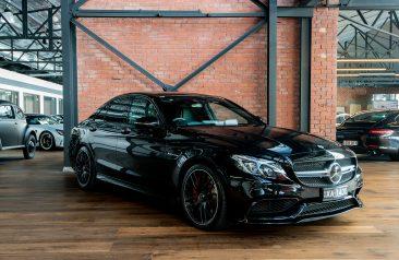 2017 Mercedes Benz C63 S AMG