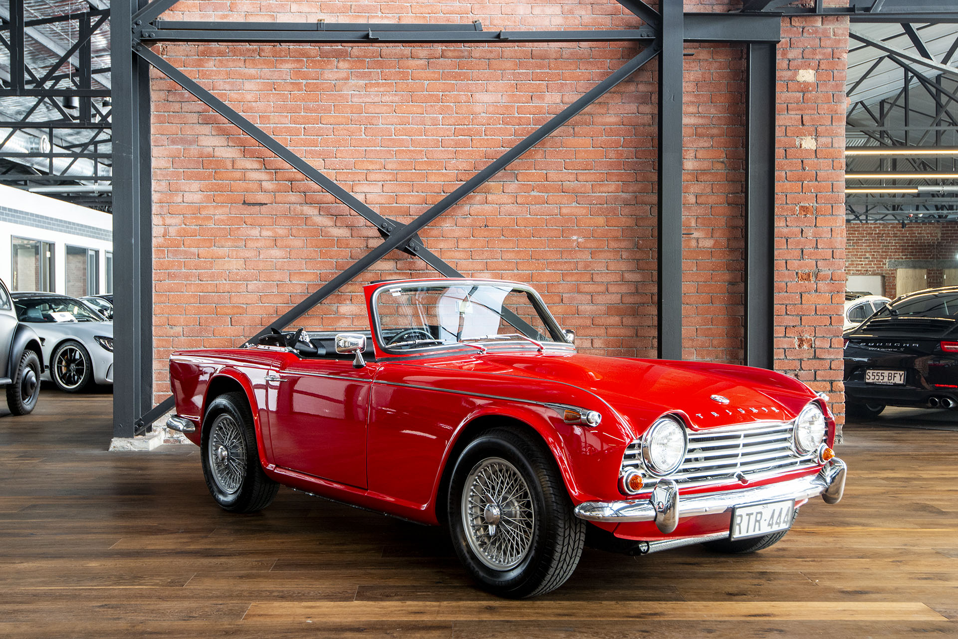 1966 Triumph TR4A IRS - Richmonds - Classic and Prestige