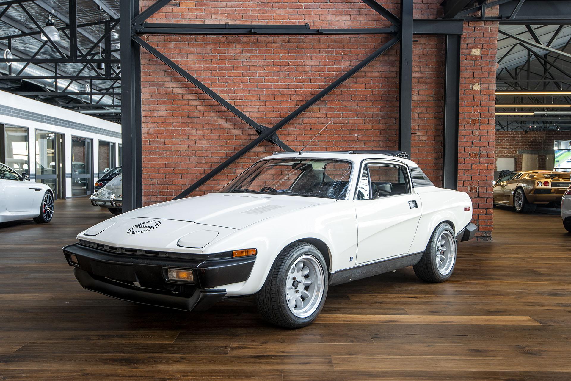 1978 Triumph TR7 V8 - Richmonds - Classic and Prestige Cars