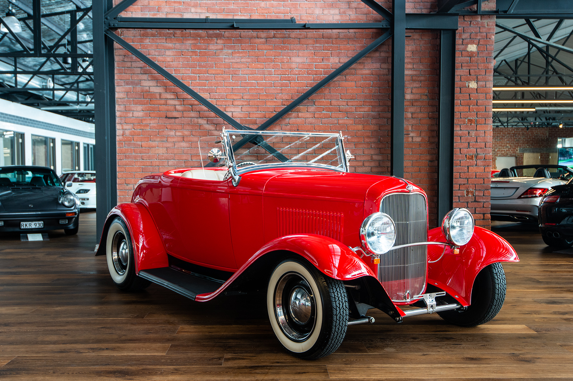 1932 ford deuce roadster hot rod - richmonds