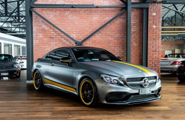 2016 Mercedes Benz C63 S Coupe