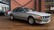 BMW 635csi Silver