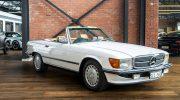 Mercedes 560SL White