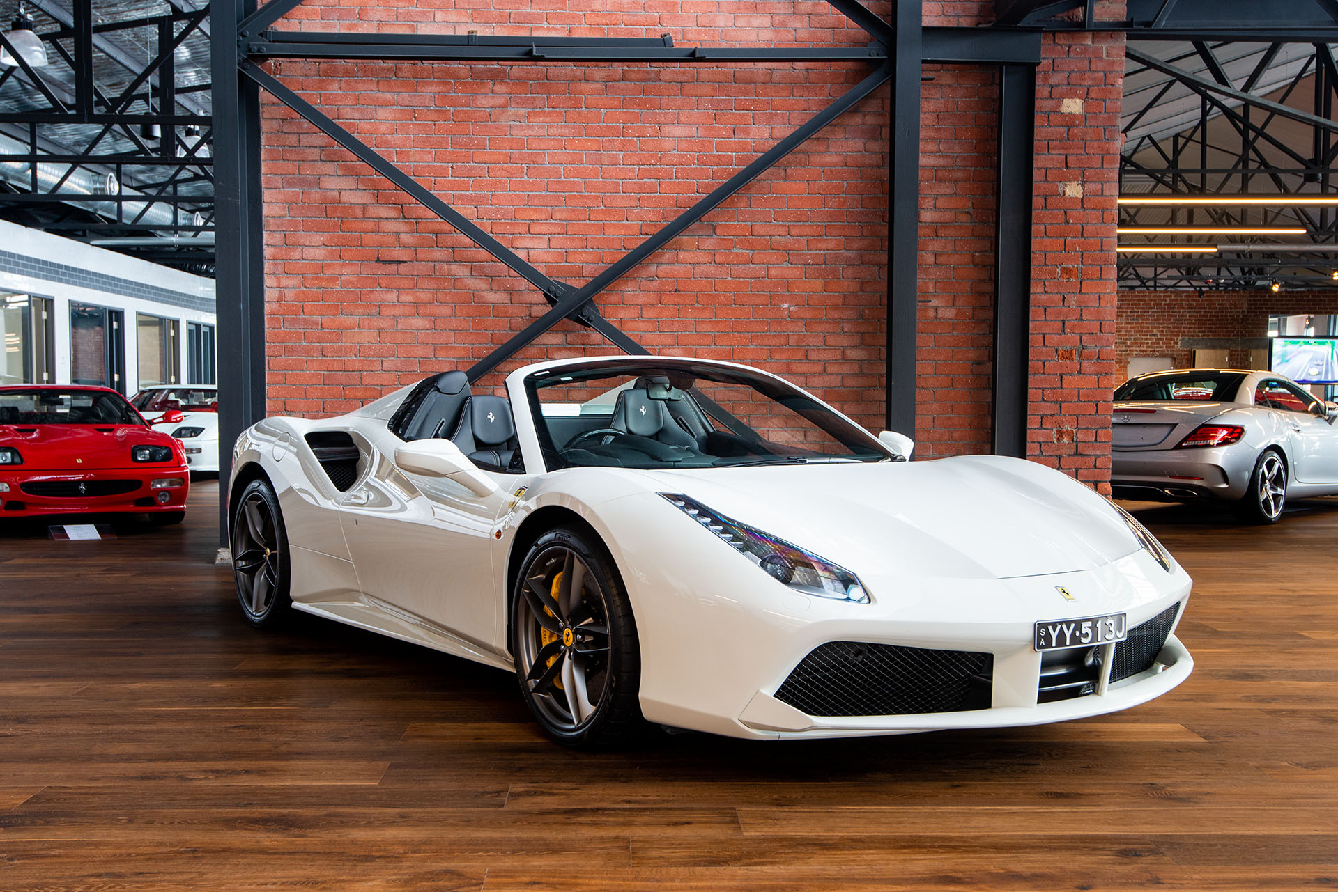 2016 Ferrari 488 Spider Richmonds Classic And Prestige Cars Storage And Sales Adelaide Australia