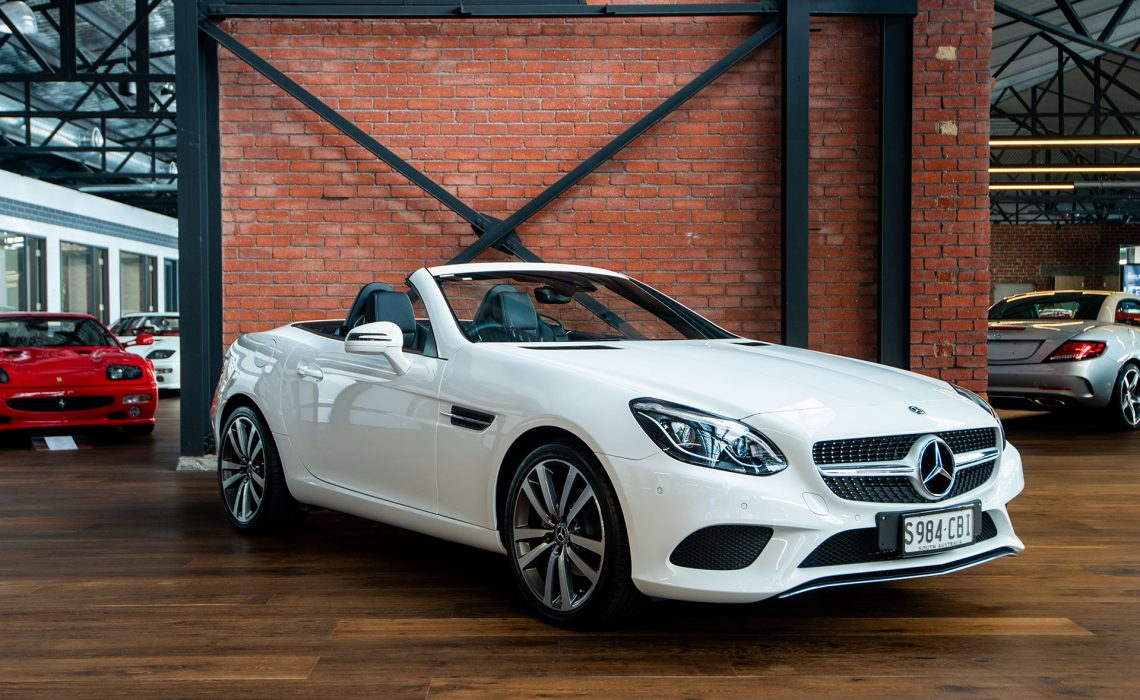 2018 Mercedes Benz SLC180