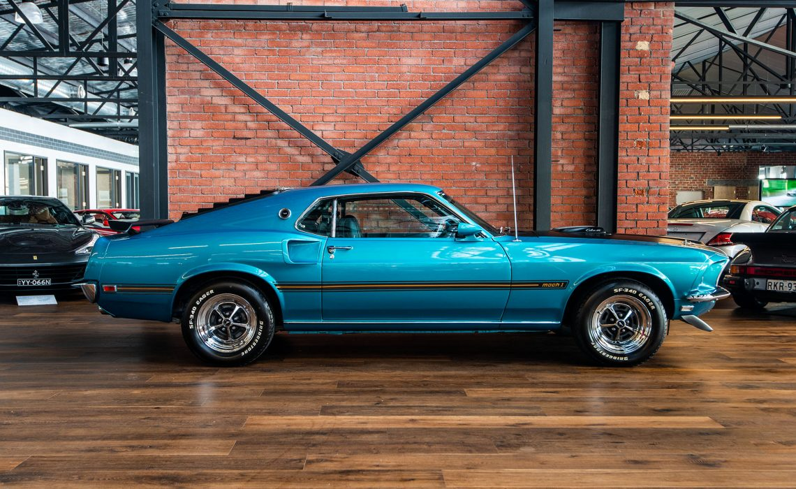 1969 Ford Mustang Mach 1 428 Cobra Jet