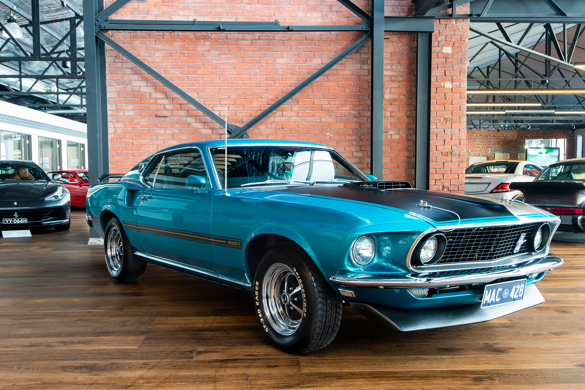 1969 Ford Mustang Mach 1 428 Cobra Jet Richmonds Classic