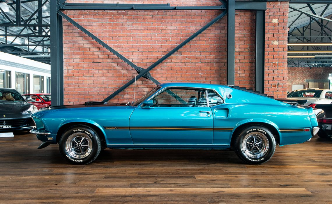 Mustang Cobra Jet >> 1969 Ford Mustang Mach 1 428 Cobra Jet - Richmonds - Classic and Prestige Cars - Storage and ...