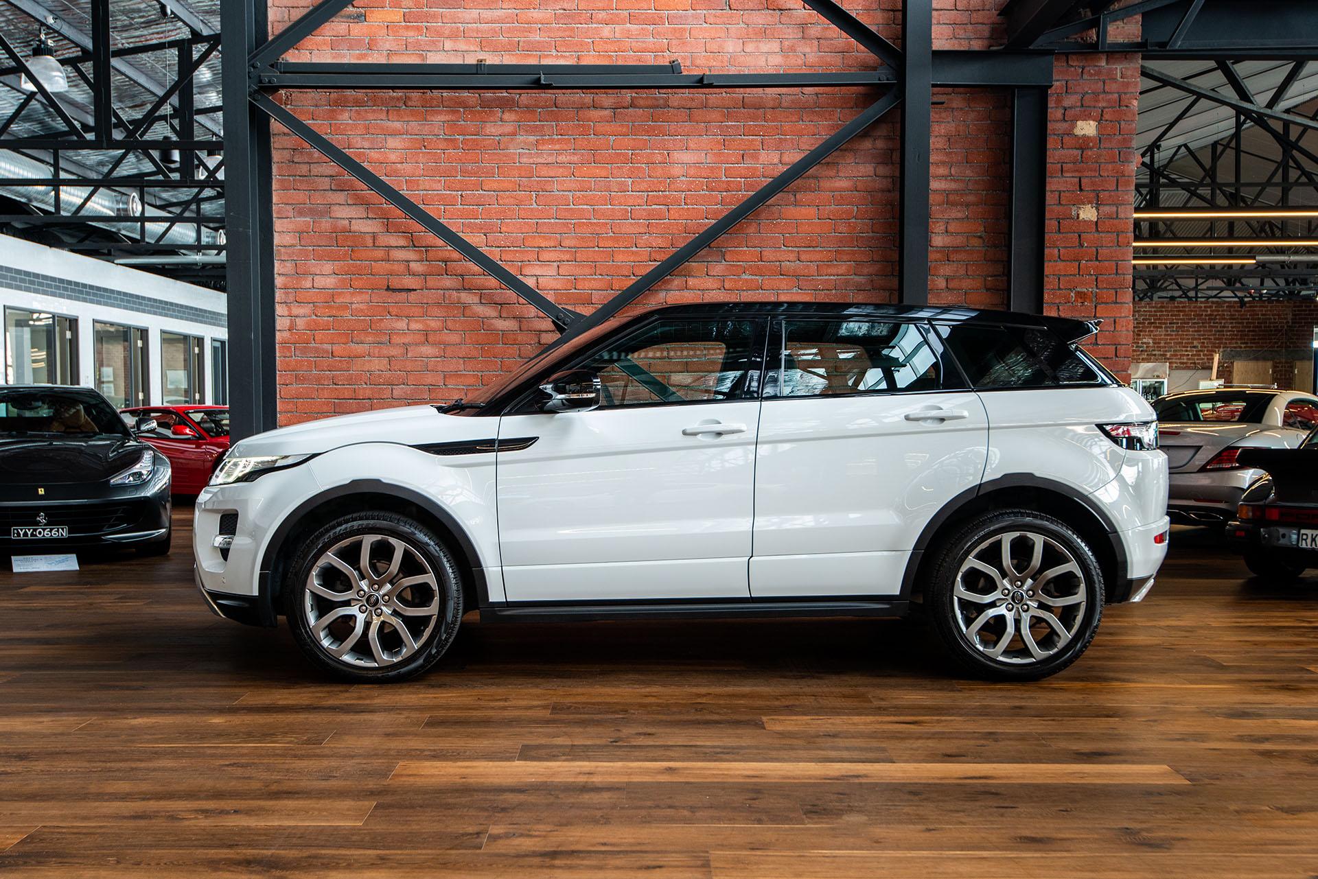 Range Rover Evoque Price >> 2013 Range Rover Evoque Si4 Dynamic - Richmonds - Classic and Prestige Cars - Storage and Sales ...