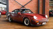 Porsche 911 Garnet Red Coupe