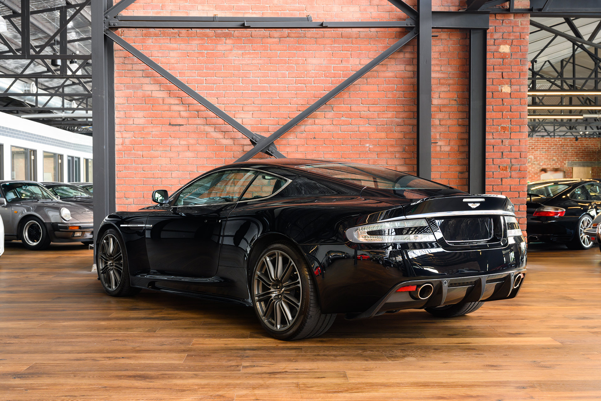 Aston Martin Dbs Black 6 Richmonds Classic And Prestige Cars Storage And Sales Adelaide Australia
