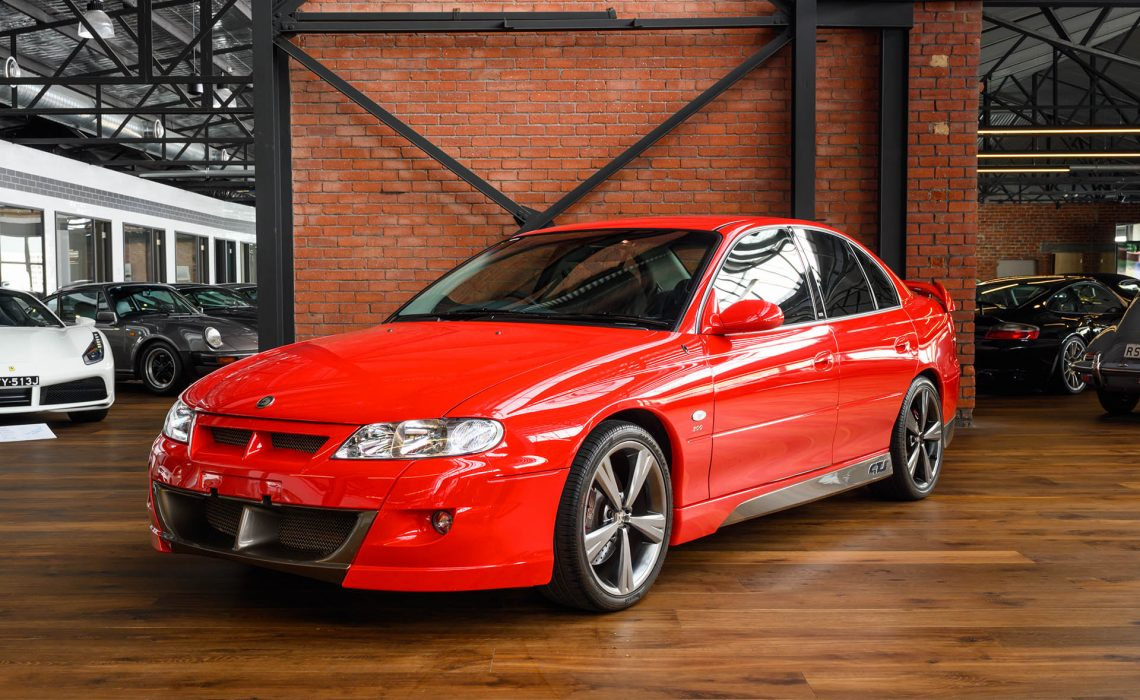 Prestige Car Service >> 2001 Holden Special Vehicle GTS VX Sedan - Richmonds ...
