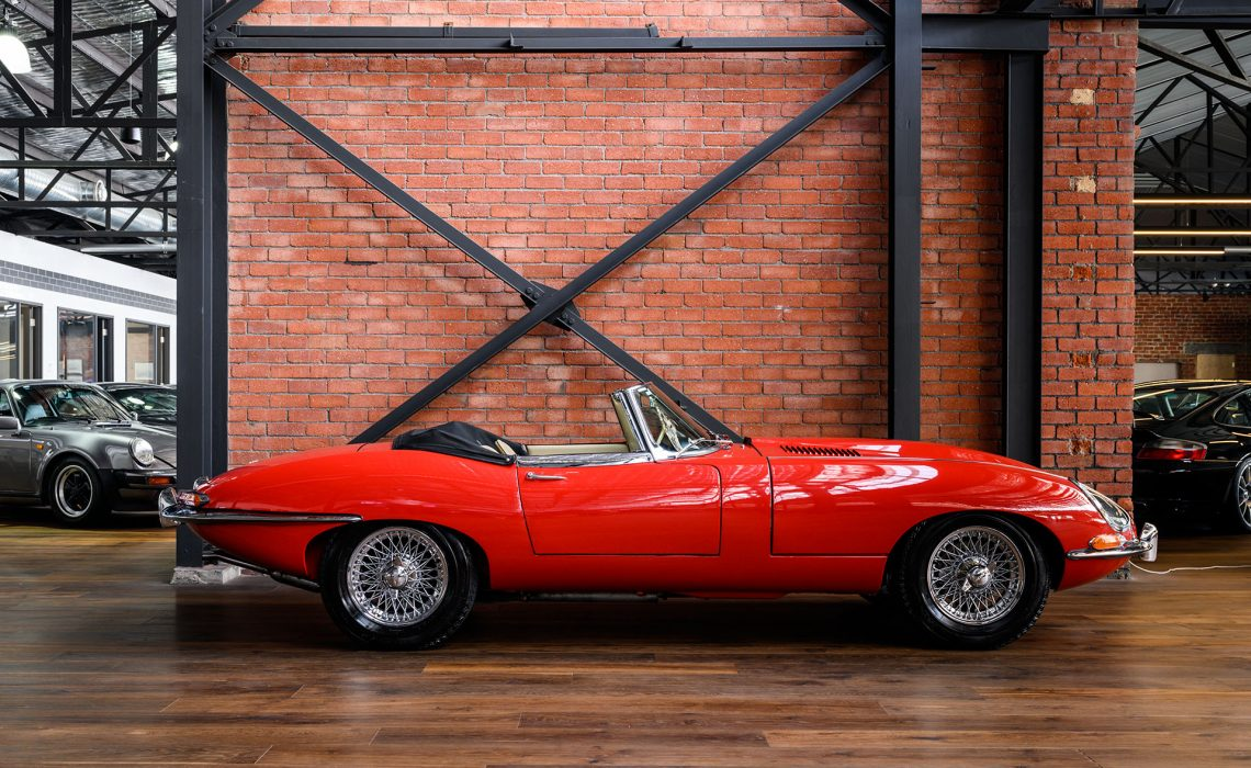 1963 Jaguar E Type 3.8 Series DHC