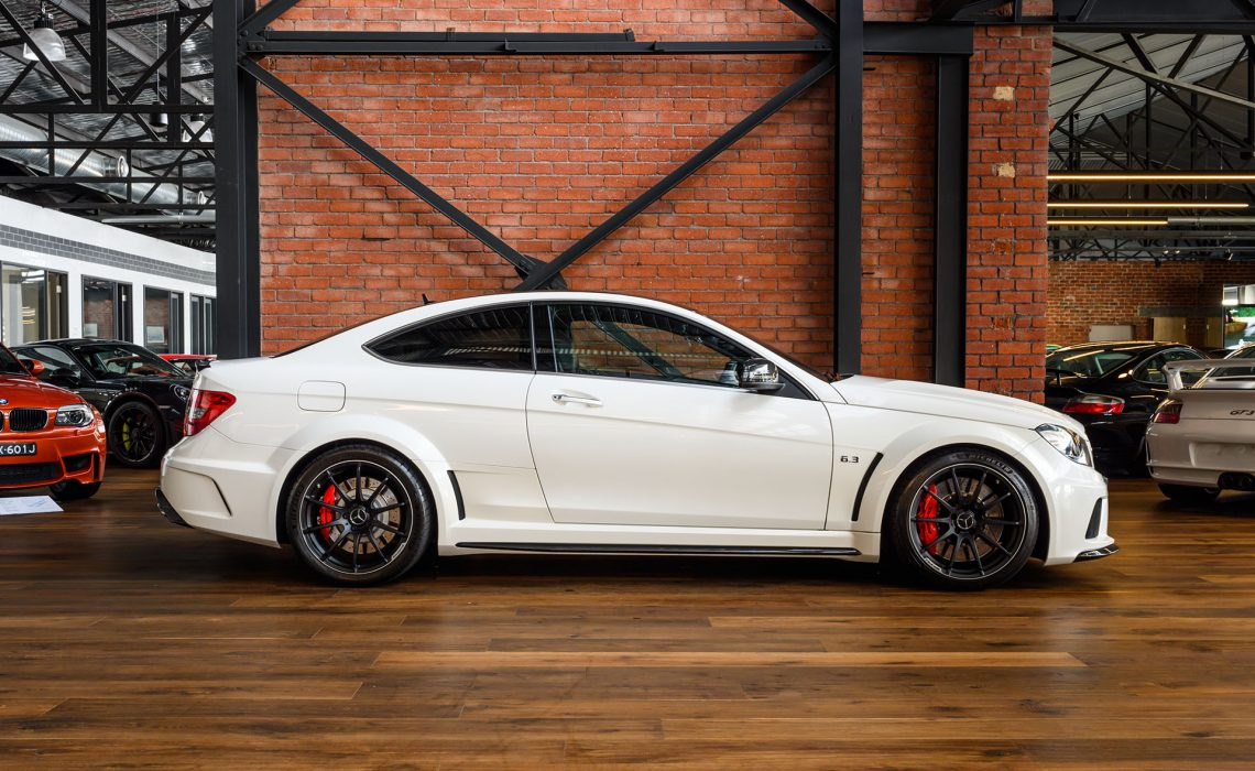 2012 Mercedes Benz C63 AMG Black Series