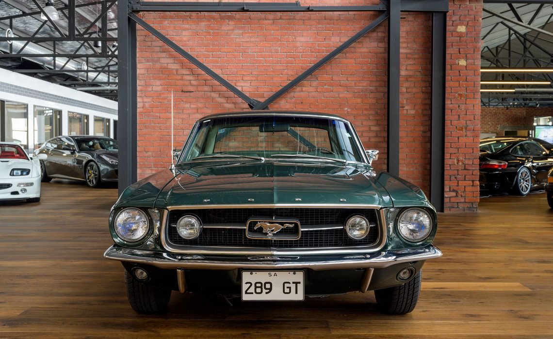 1967 Ford Mustang 289 GT Hardtop