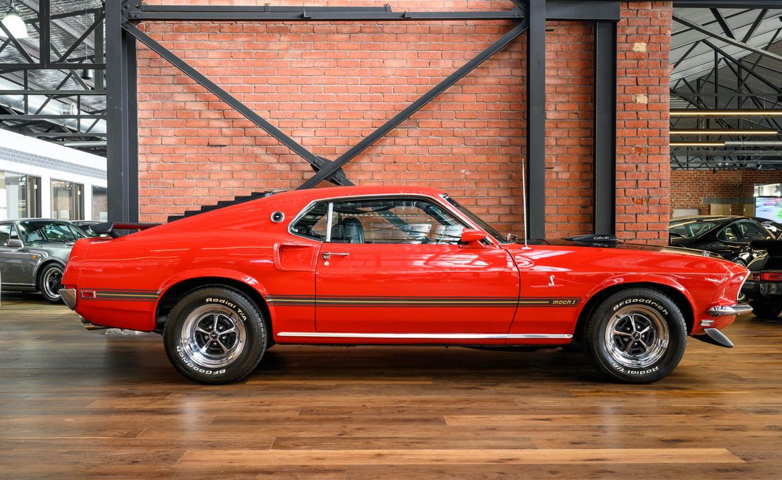 1969 Ford Mustang Mach 1 Cobra Jet 428 Fastback