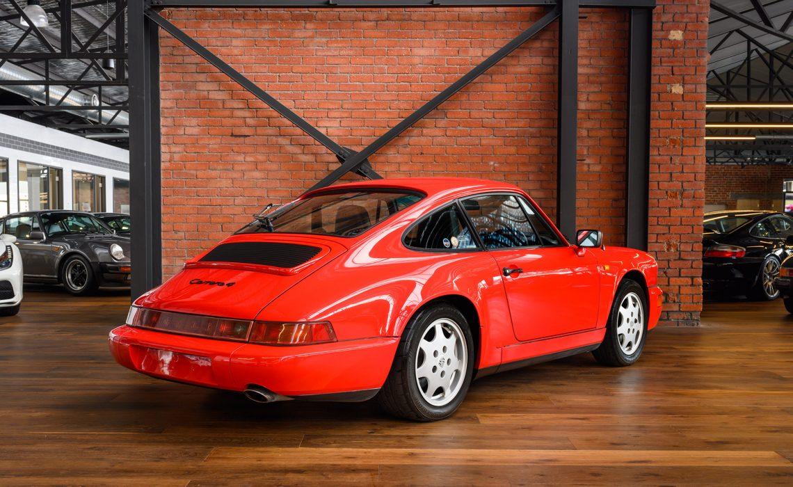 1989 Porsche Carrera 4 Coupe