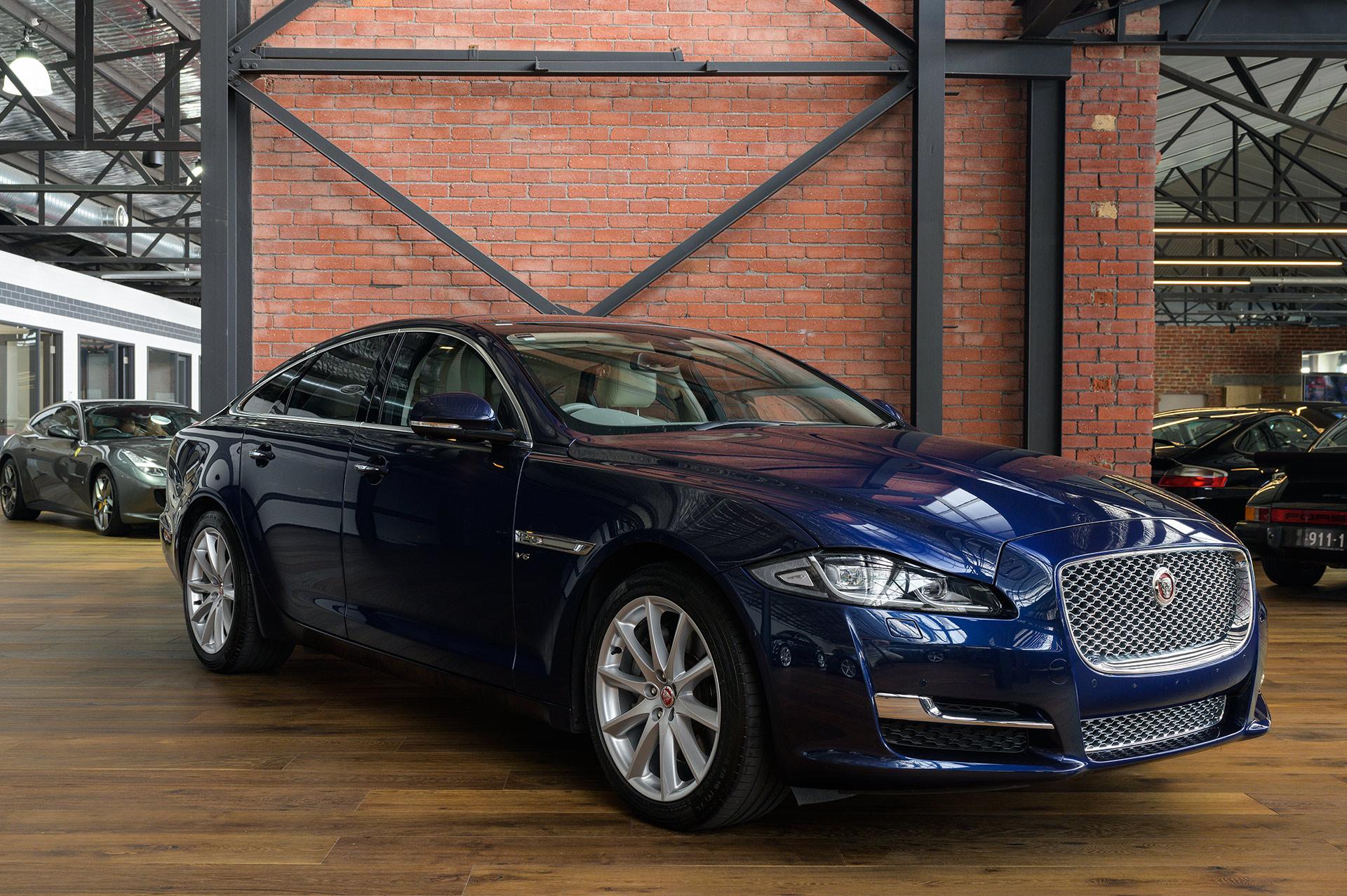 2016 Jaguar XJ X351 Premium Luxury Sedan - Richmonds - Classic and Prestige Cars - Storage and ...