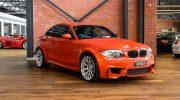 BMW 1M Orange