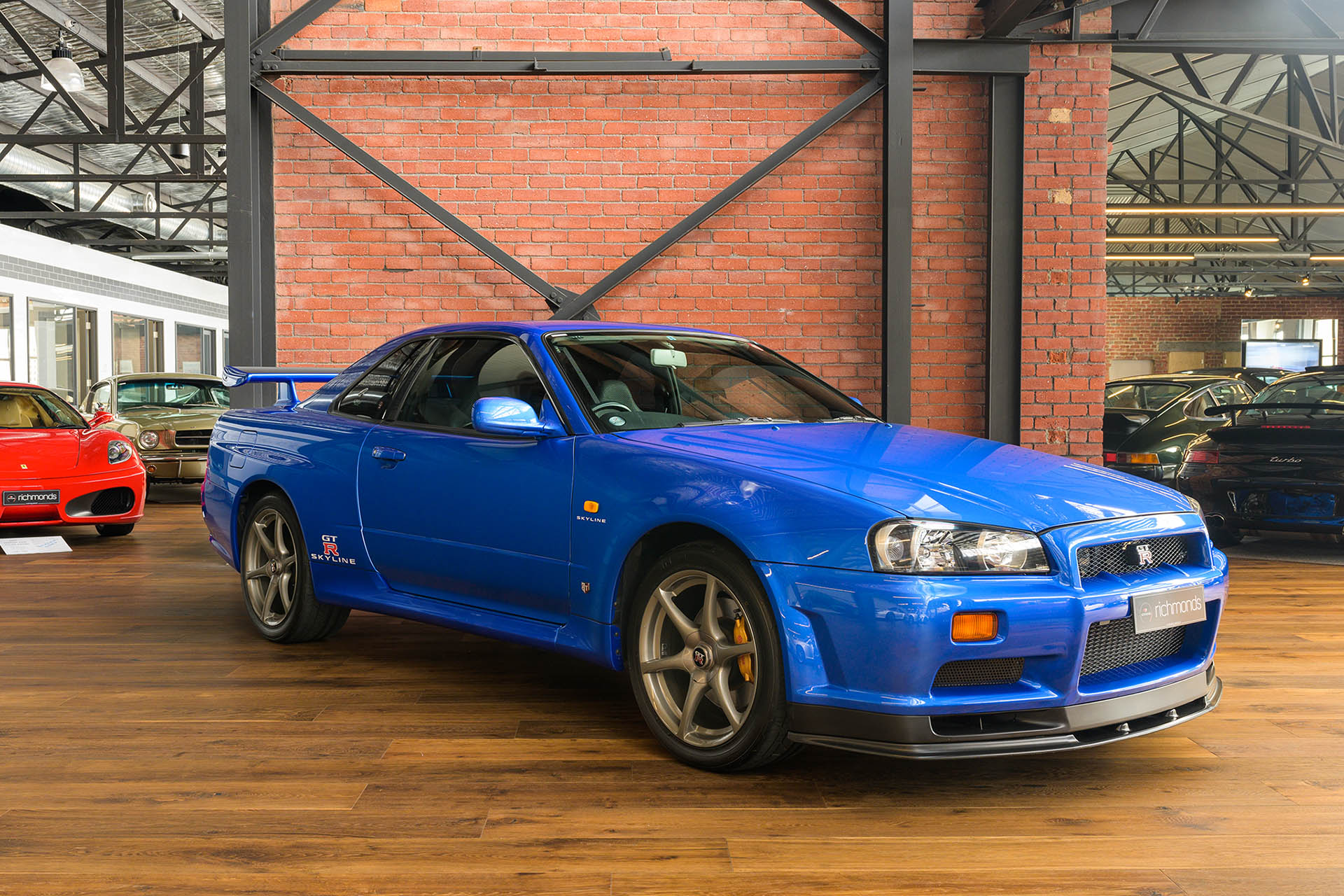 1999 Nissan Skyline R34 Gt R V Spec Richmonds Classic And Prestige Cars Storage And Sales Adelaide Australia