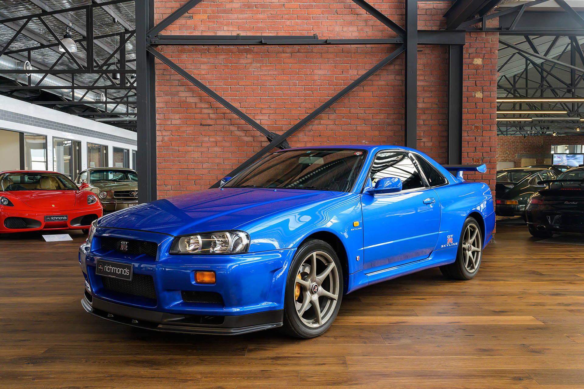 1999 Nissan Skyline Gtr R34 For Sale >> 1999 Nissan Skyline R34 GT-R V Spec - Richmonds - Classic ...