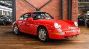 Porsche 911 964 Red