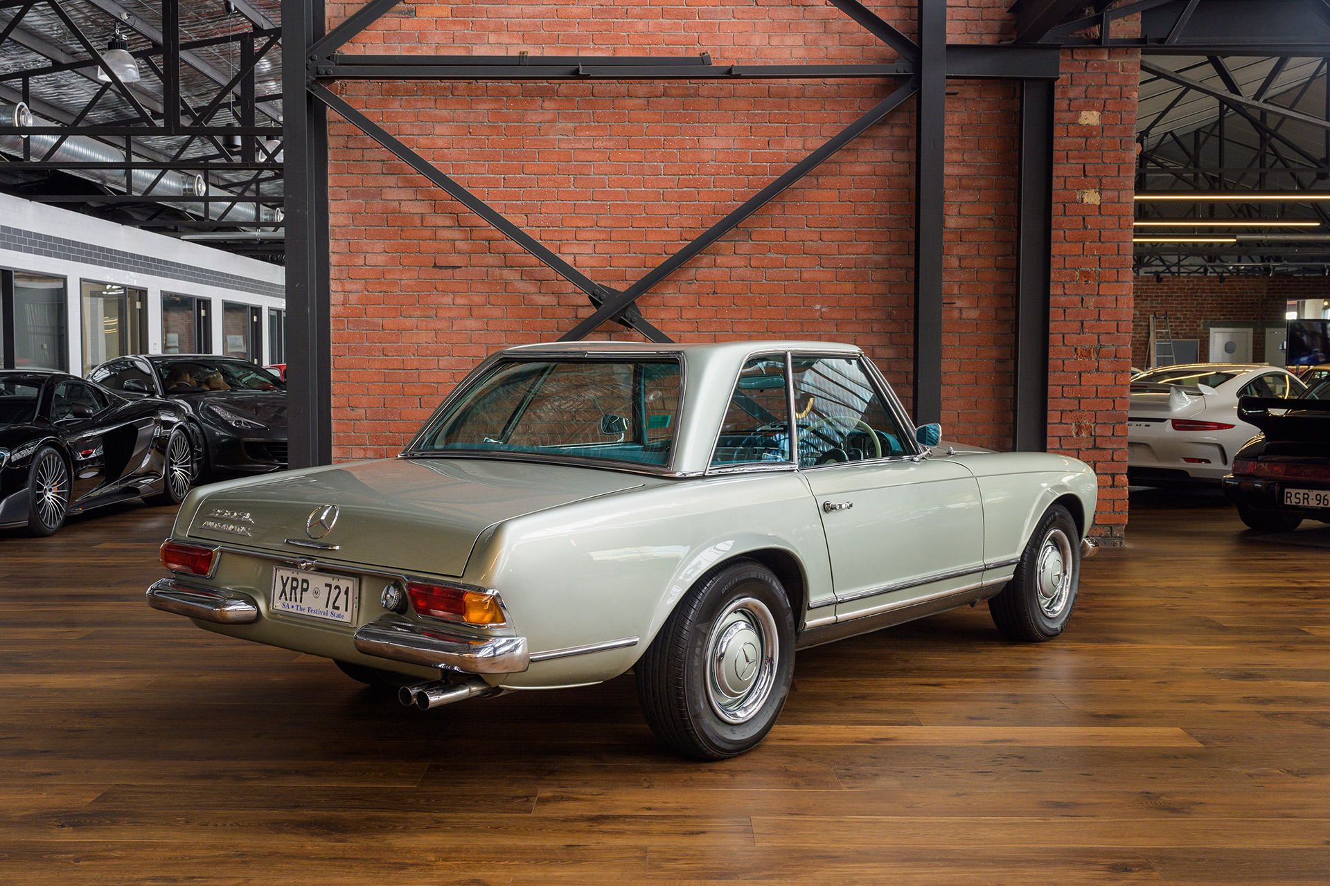 1967 Mercedes Benz 250SL California Coupe - Richmonds ...
