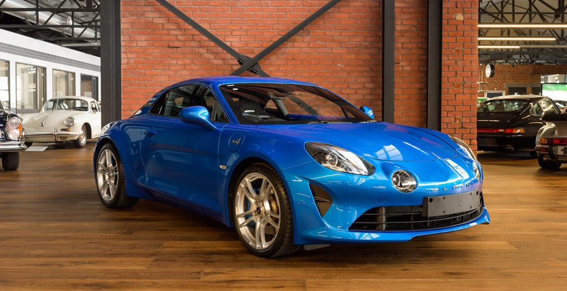 2018 Alpine A110 blue