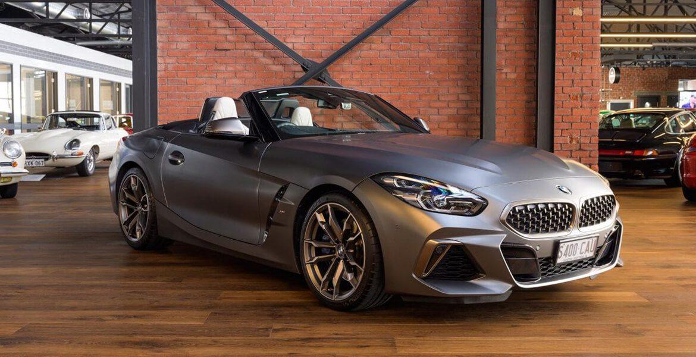 2018 BMW Z4 dull grey