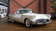 1957 Ford Thunderbird off white