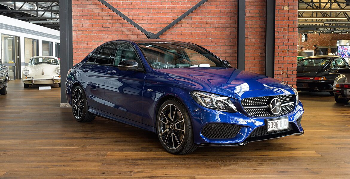 2016 Mercedes Benz C43 blue