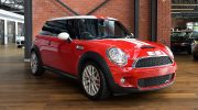 2008 BMW Mini JCW red & white