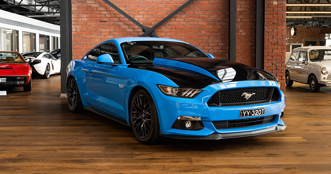 2017 Ford Mustang GT Blue