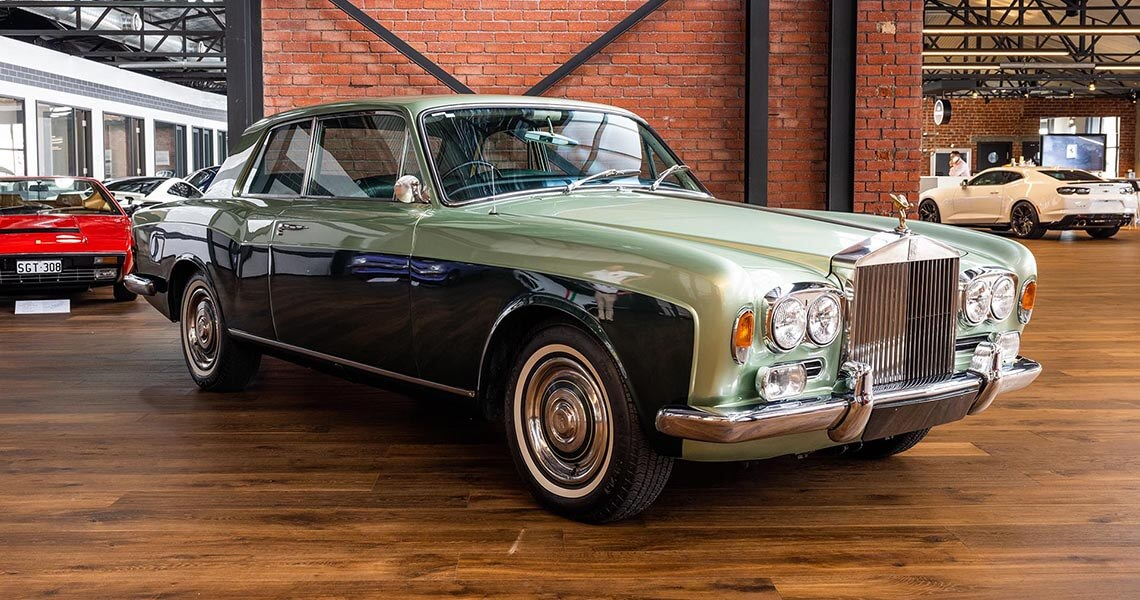 1969 Rolls Royce MPW 2 Door Coupe