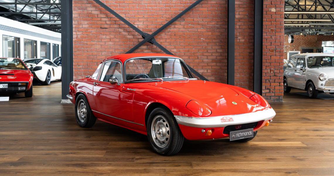 1967 Lotus Elan S3 SE FHC