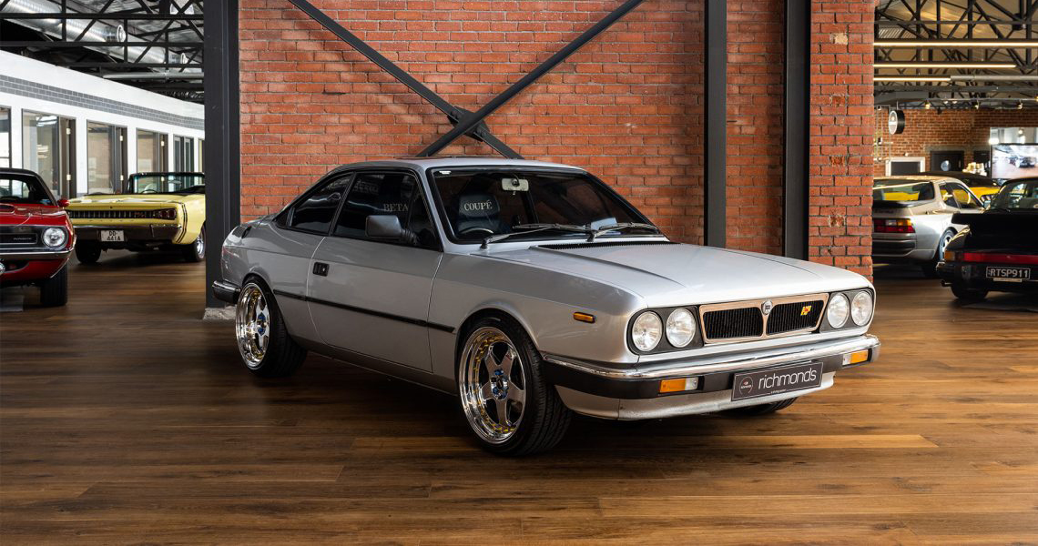 1984 Lancia Beta Coupe Manual