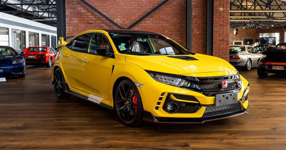 2021 Honda Civic Type R Yellow