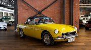 1972 MGB BL Roadster Yellow