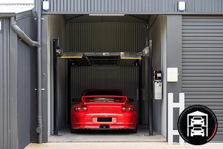 Richmonds Car Storage Adelaide - Single Garage with Hoist
