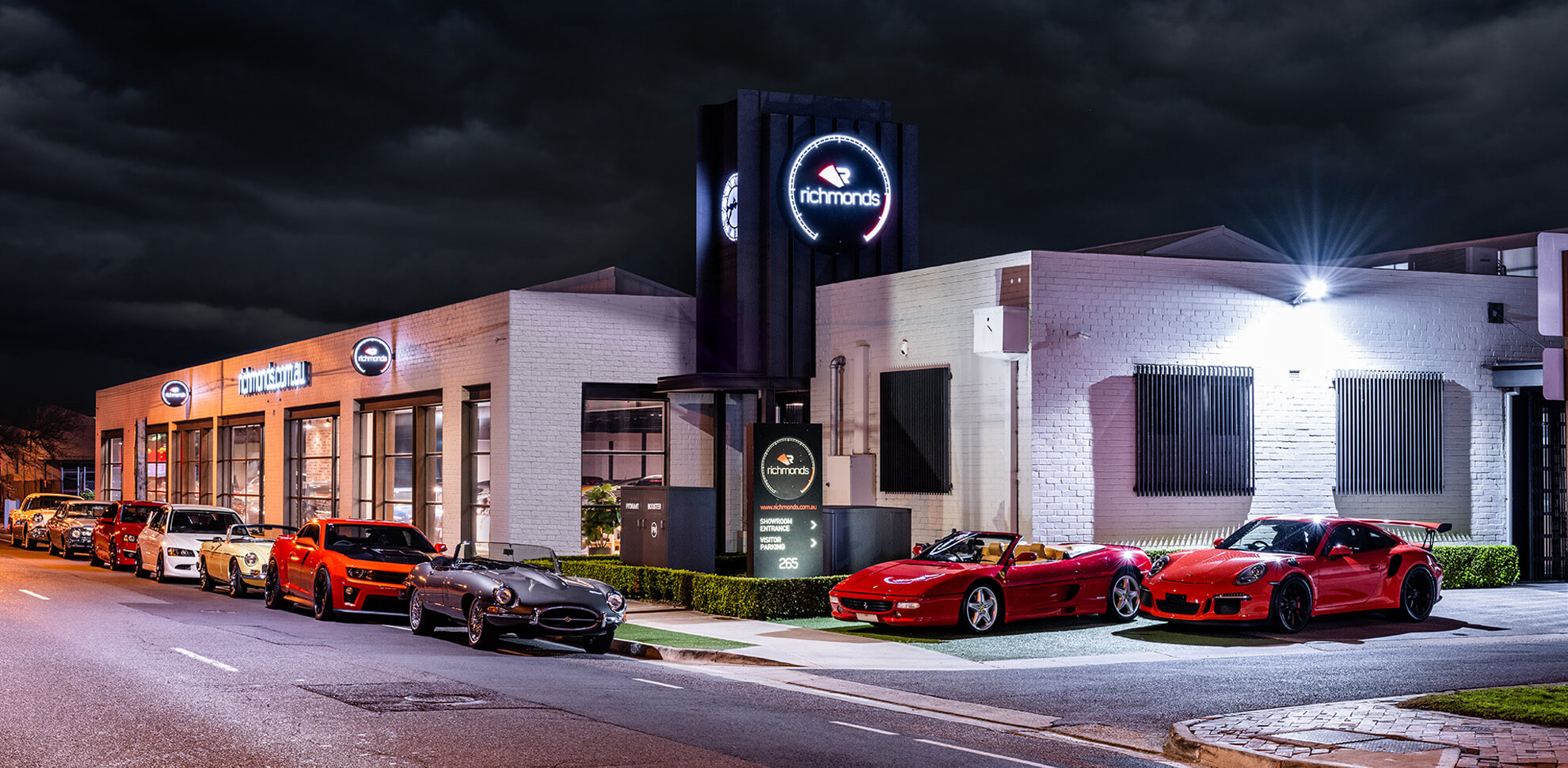 Richmonds Classic & Prestige Cars Adelaide